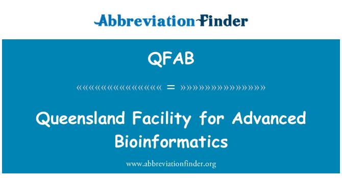 QFAB: Centro de Queensland para Bioinformática avanzada