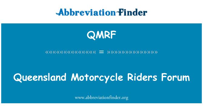 QMRF: Queensland Motorcycle Riders Forum