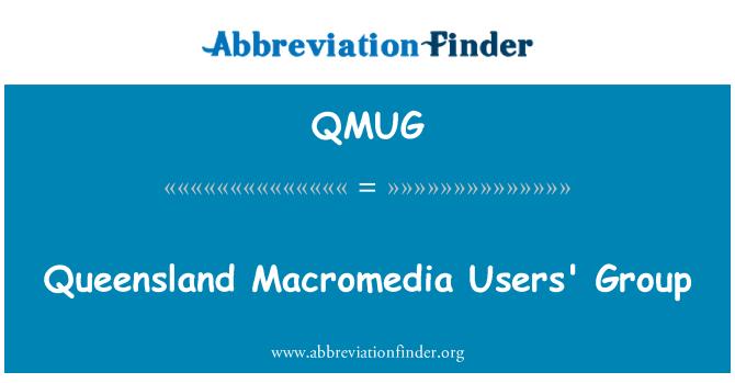 QMUG: Queensland Macromedia Users' Group