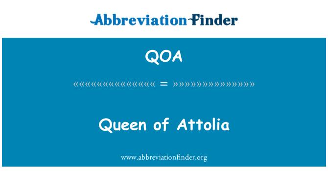 QOA: Reina de Attolia