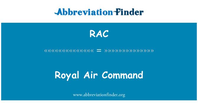 RAC: Royal Air Command