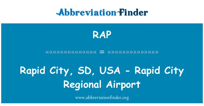 RAP: Rapid City, SD, USA - Rapid City Regional Airport