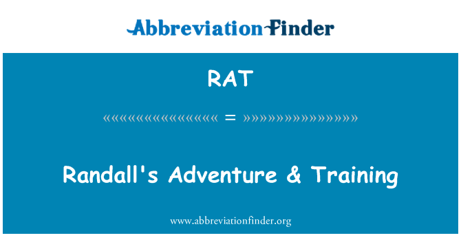 RAT: Randall's Adventure & Training