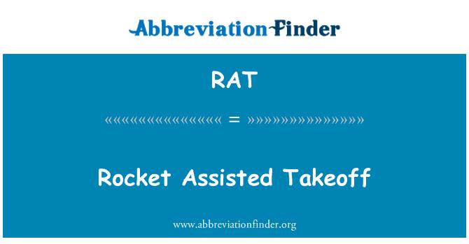 RAT: Rocket Assisted Takeoff
