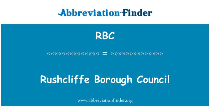 RBC: Rushcliffe Borough Council
