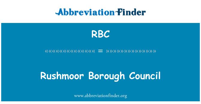 RBC: Rushmoor Borough Council