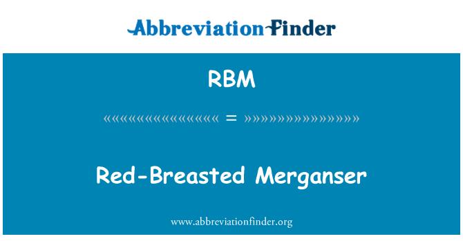 RBM: Red-Breasted Merganser