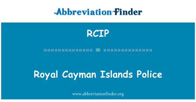 RCIP: Policía de las Islas Caimán real