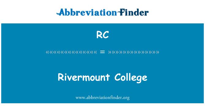 RC: Rivermount College