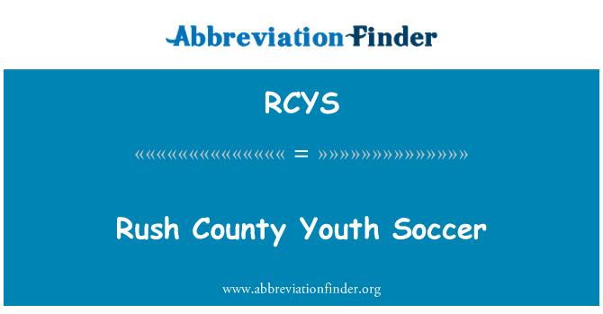 RCYS: Rush County Youth Soccer