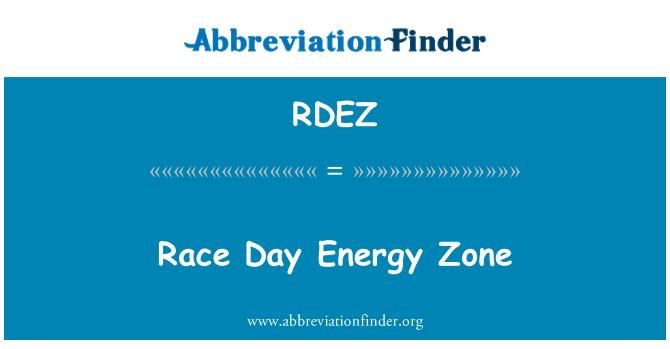 RDEZ: Race Day Energy Zone