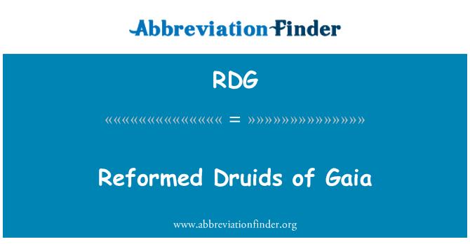 RDG: Reformed Druids of Gaia