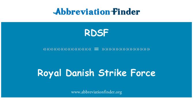 RDSF: Royal Danish Strike Force