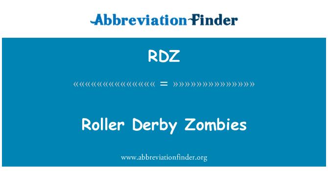 RDZ: Roller Derby Zombies