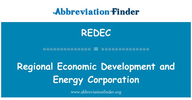 REDEC: Regionų ekonominės plėtros ir energetikos korporacijos