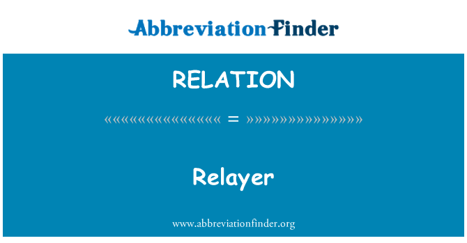 RELATION: Relayer