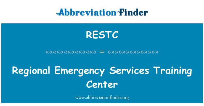 RESTC: Regional Emergency Services Training Center