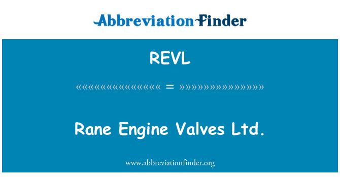 REVL: Rane Engine Valves Ltd.