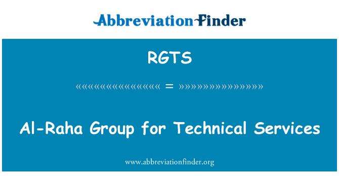 RGTS: Al Raha grup teknik hizmetler