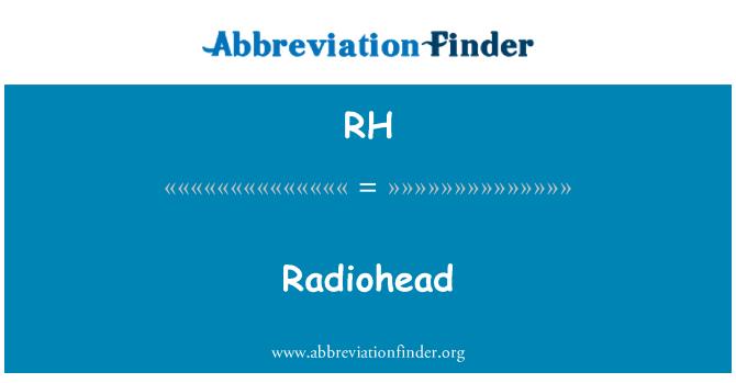 RH: Radiohead