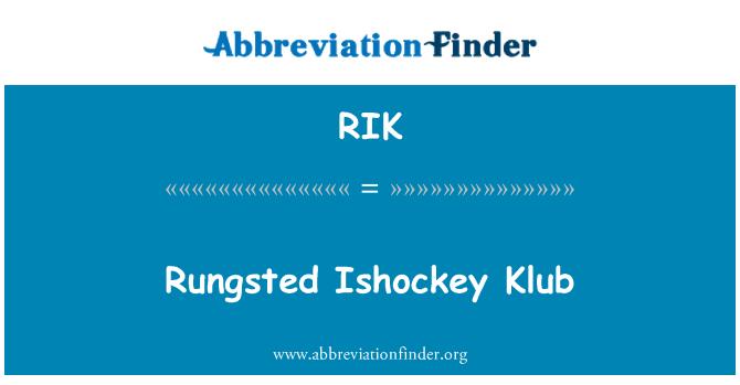 RIK: Rungsted Ishockey Klub