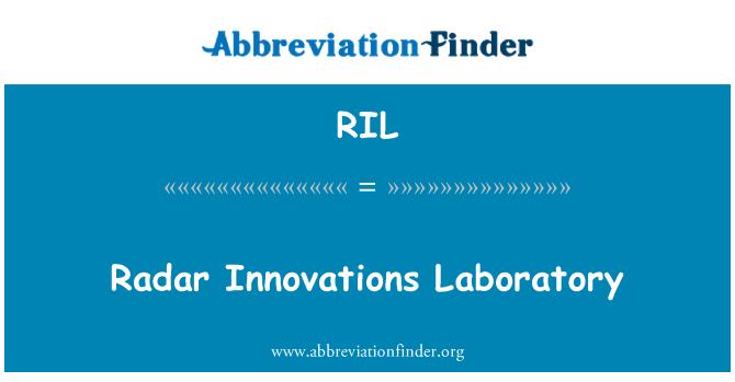 RIL: Radar Innovations Laboratory