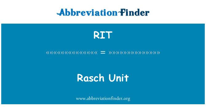 RIT: وحدة راش
