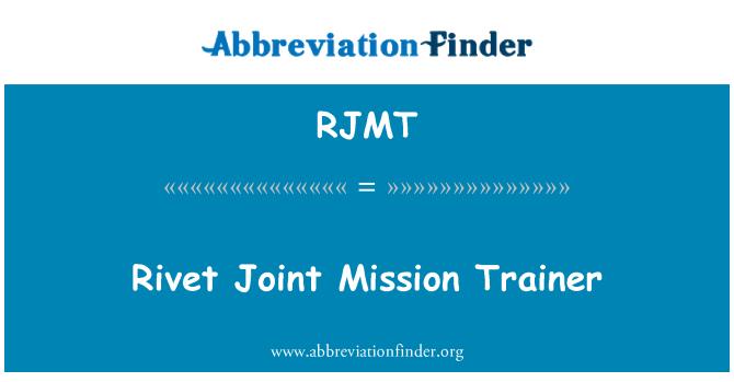 RJMT: Rivet Joint Mission Trainer