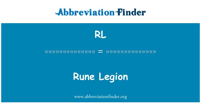 RL: Rune Legion