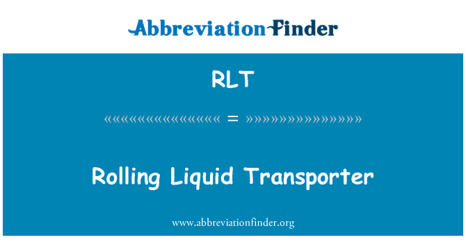 RLT: Rolling Liquid Transporter