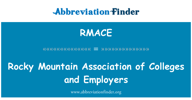 RMACE: Rocky Mountain Association of Colleges and Employers