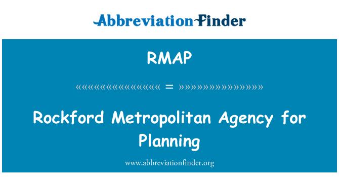 RMAP: Rockford Metropolitan Agency for Planning