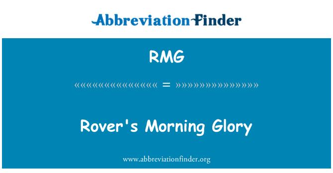 RMG: Rover's Morning Glory