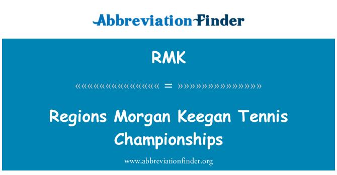 RMK: Regions Morgan Keegan Tennis Championships