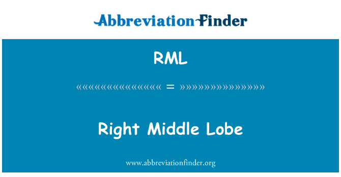 RML: Right Middle Lobe