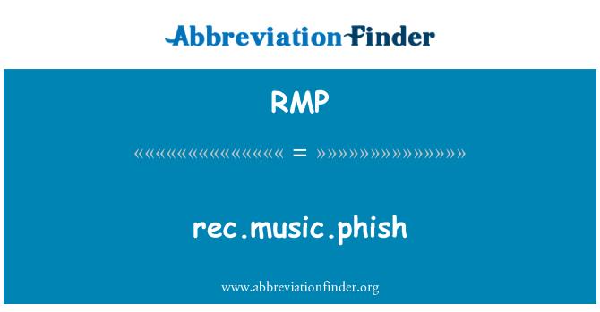 RMP: rec.music.phish