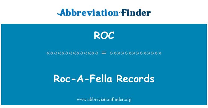 ROC: Roc-A-Fella Records