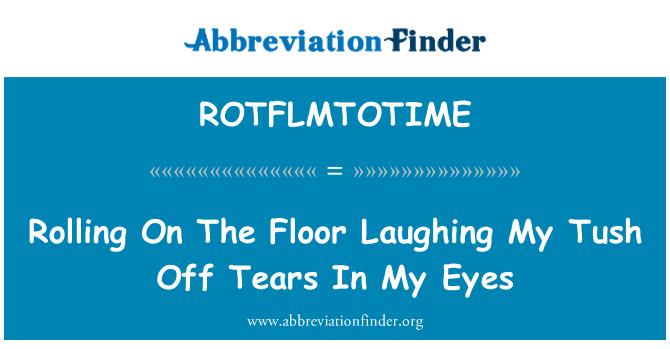 ROTFLMTOTIME: Valjanja na podu smijeha moje pih sa suzama u očima