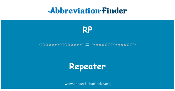RP: Repeater