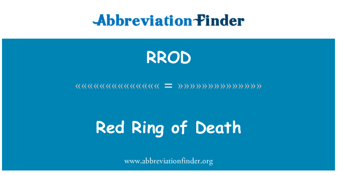 RROD: Red Ring of Death