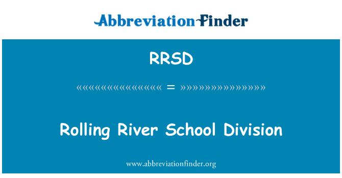 RRSD: Rolling River School Division