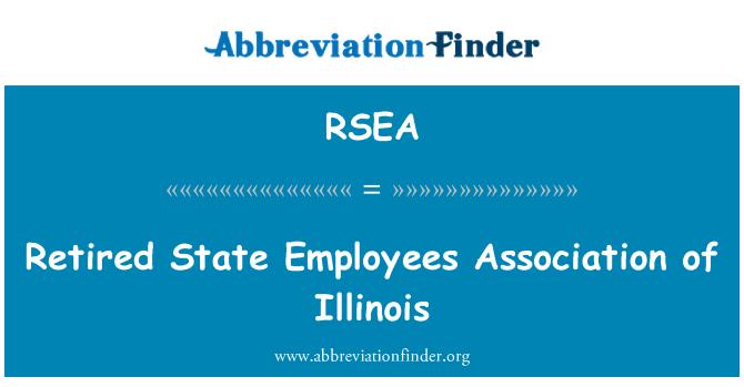 RSEA: 美国伊利诺斯州的退休州雇员协会