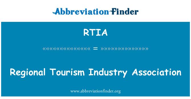 RTIA: Asociación de la industria turística regional