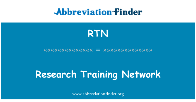 RTN: Research Training Network