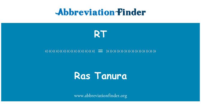 RT: Ras Tanura