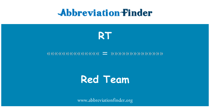 RT: Punane meeskond