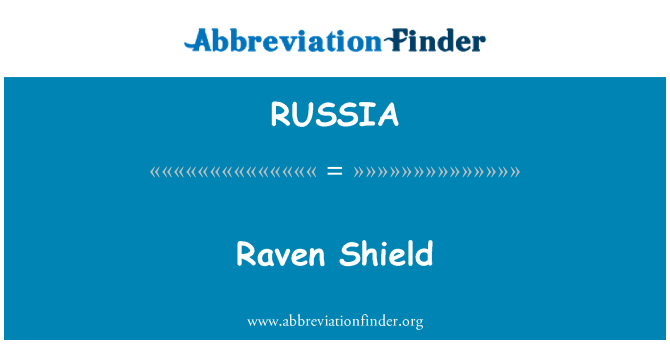 RUSSIA: Raven Shield