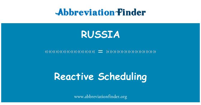 RUSSIA: Programación reactiva