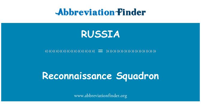 RUSSIA: Escuadrón de reconocimiento
