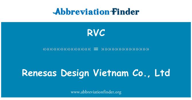 D finition de rvc renesas design vietnam co ltd for Architect ltd
